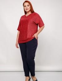 Блуза 0087-18_красный