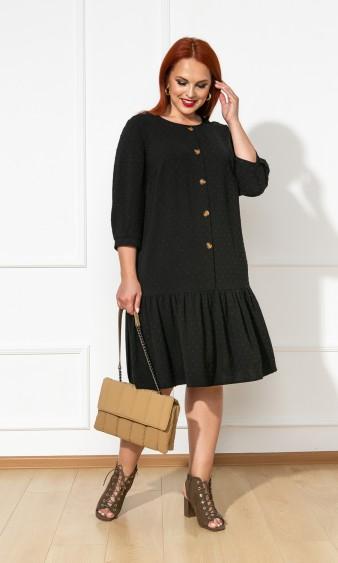 Платье 0176-2 черный