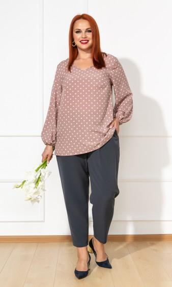 Блуза 0059-26 бежевый