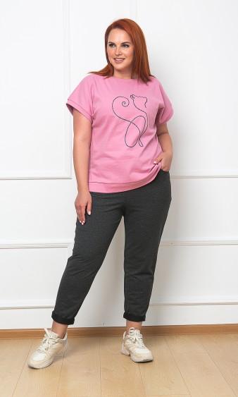 Джемпер 0464-1 розовый
