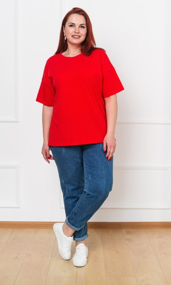 Джемпер 0087-4 красный