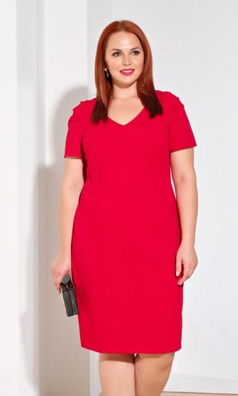 Платье 0195-1 красный