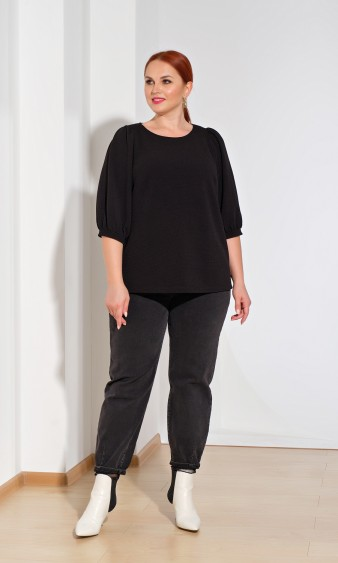 Блуза 0208-1 чёрный