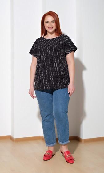 Блуза 0014-32 черный