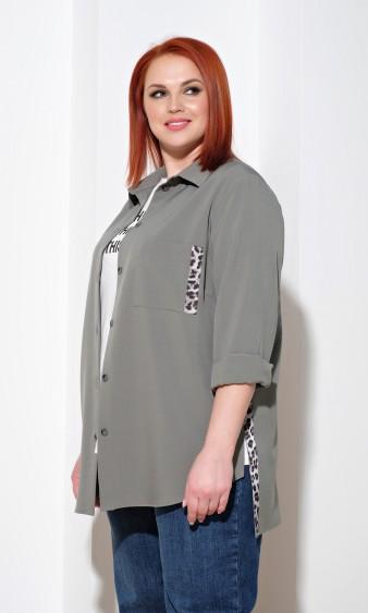 Рубашка 0199-1 зеленый