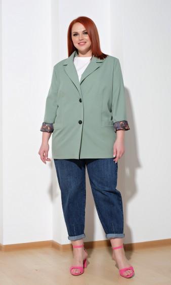 Жакет 0126-3 зеленый