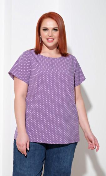 Блуза 0014-32 фиолетовый