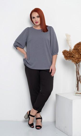 Блуза 0208-1 серый