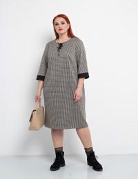 Платье 0045-7 бежевый