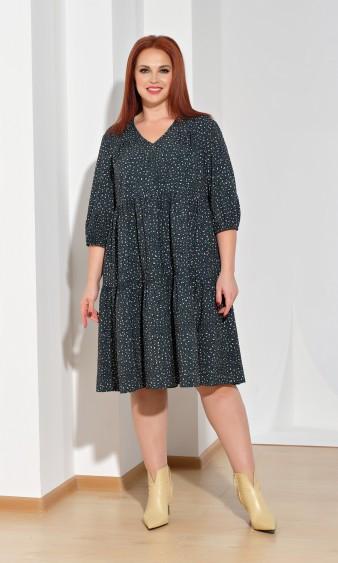 Платье 0060-23 зеленый