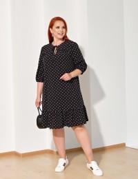 Платье 0229-1 черный