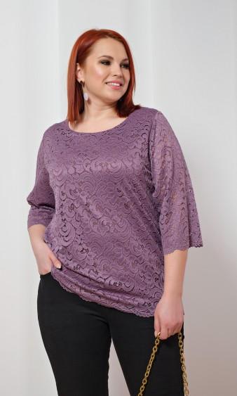 Блуза 0015-36 лиловый
