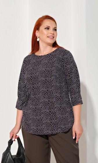 Блуза 0220-1 черный
