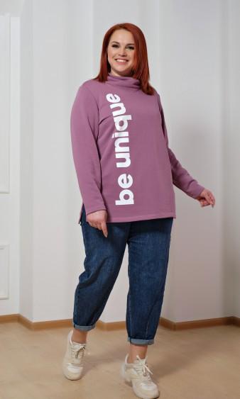 Джемпер 0214-1 розовый