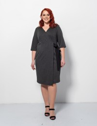 Платье 0150-1 серый