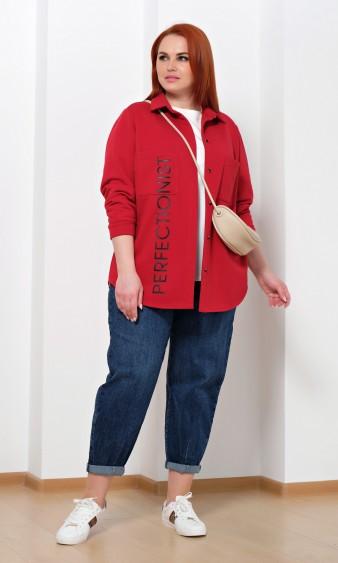 Рубашка 0222-1 красный