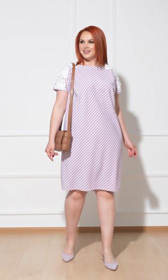 Платье 0231-1 розовый