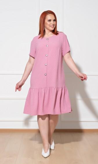 Платье 0176-2 розовый