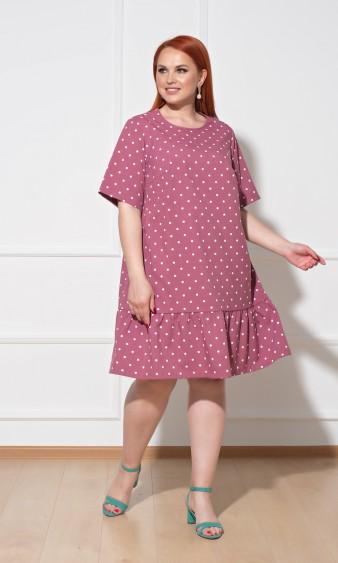 Платье 0013-3 темно-розовый
