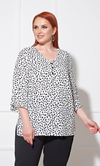 Блуза 0059-4 белый