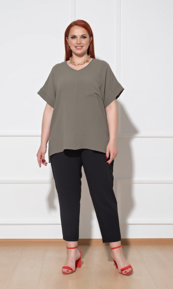 Блуза 0113-2 хаки