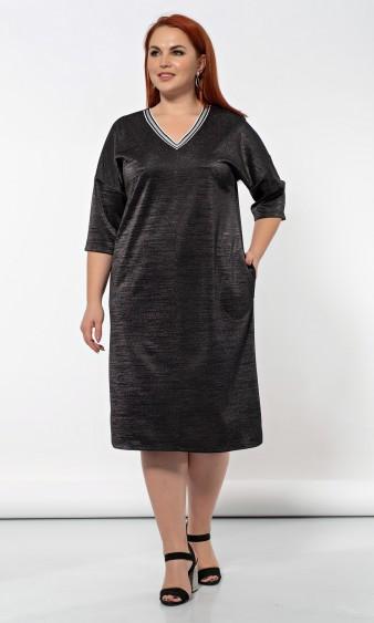 Платье 0141-9 черный