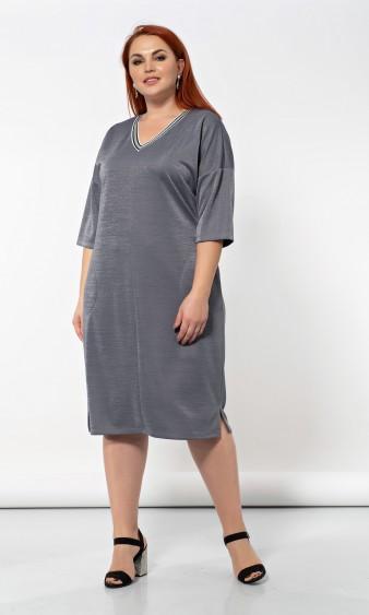 Платье 0141-9 серый