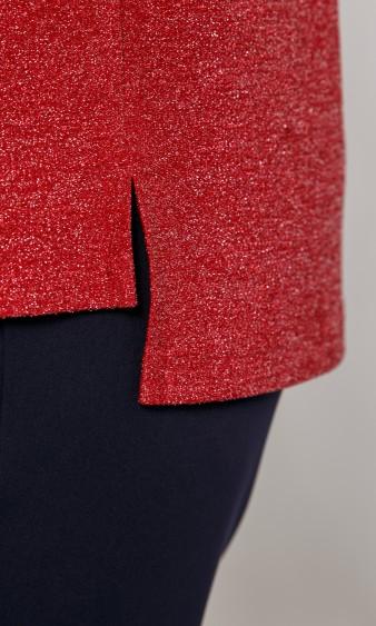 Блуза 0087-18 красный