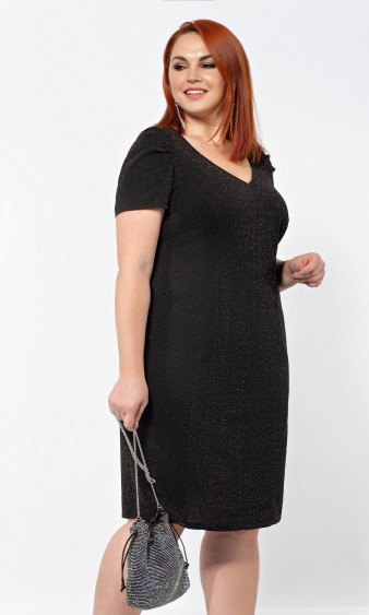 Платье 0195-1 черный