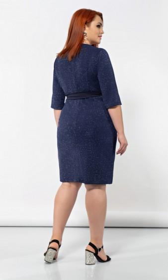 Платье 0150-1 синий