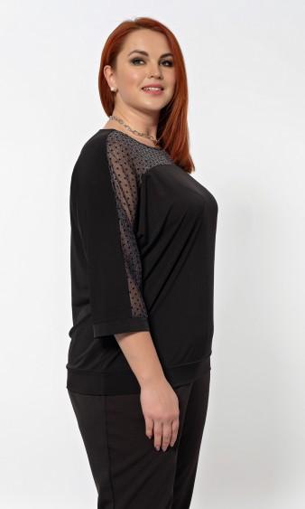 Блуза 0205-1 черный