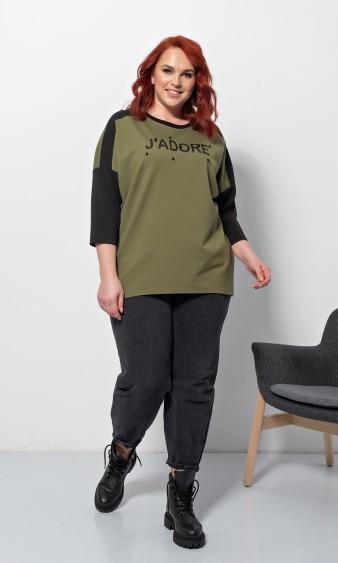 Блуза 0209-1 зеленый