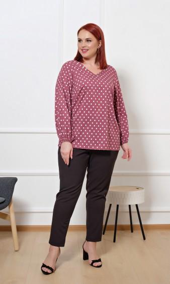Блуза 0059-26 темно-розовый