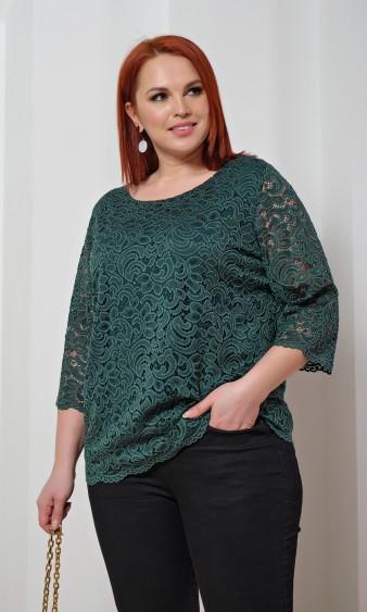 Блуза 0015-36 зеленый
