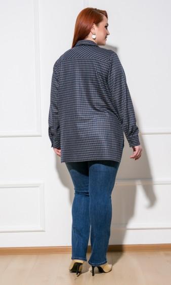 Рубашка 0199-1 темно-синий