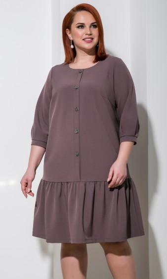 Платье 0176-1 темно-розовый