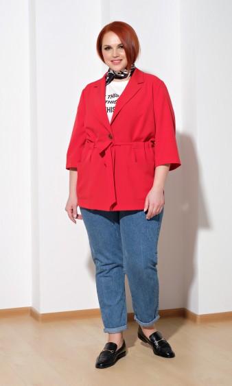 Жакет 0177-1 красный