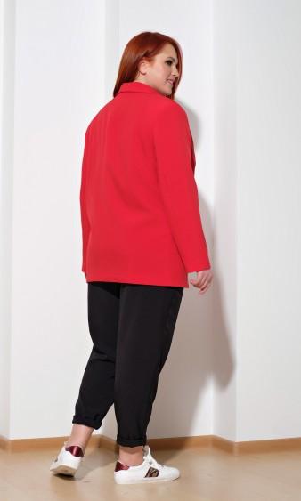 Жакет 0126-3 красный