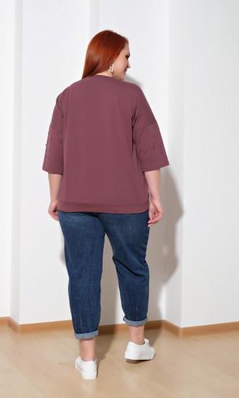 Джемпер 0027-40 темно-розовый