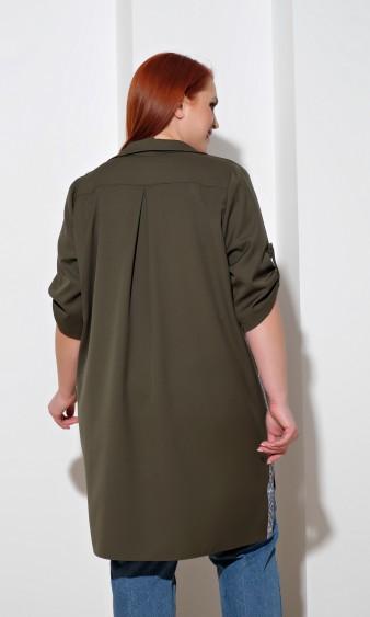 Рубашка 0022-12 хаки