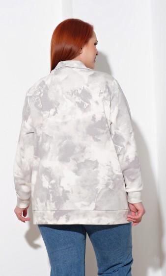 Кардиган 0223-1 серый
