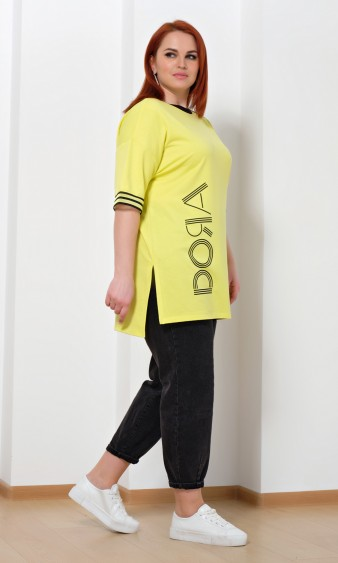 Туника 0228-1 желтый