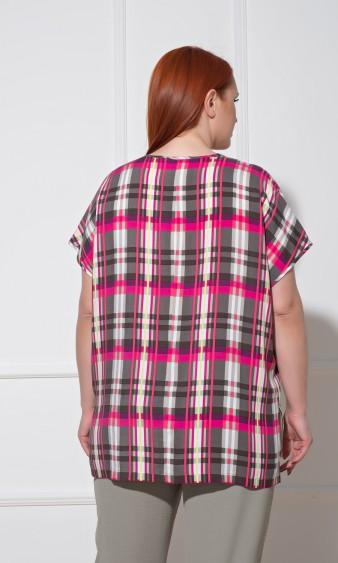 Блуза 0113-1 серый