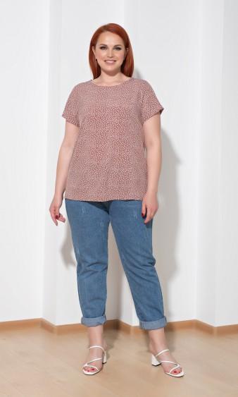 Блуза 0014-32 бежевый