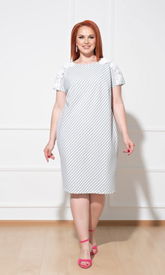 Платье 0231-1 зеленый
