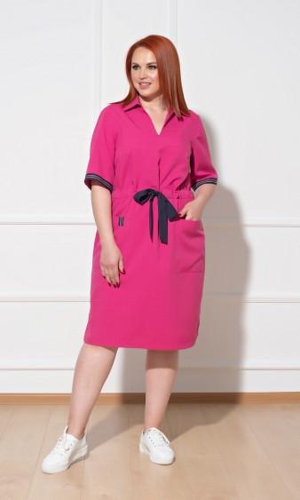 Платье 0085-3 розовый