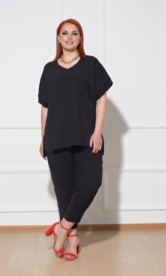 Блуза 0113-2 черный
