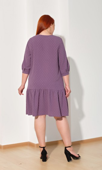 Платье 0176-2 сиреневый