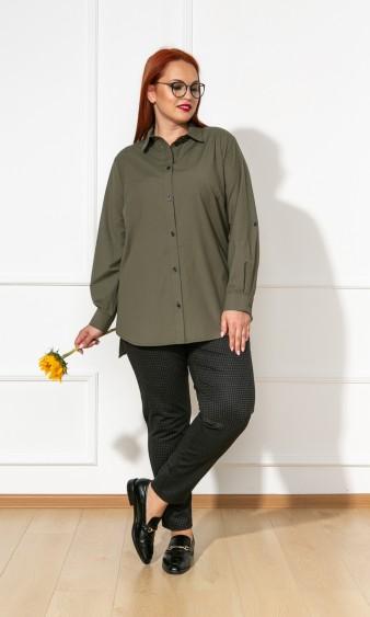 Рубашка 0199-2 хаки