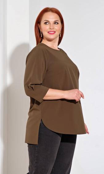 Блуза 0220-1 хаки